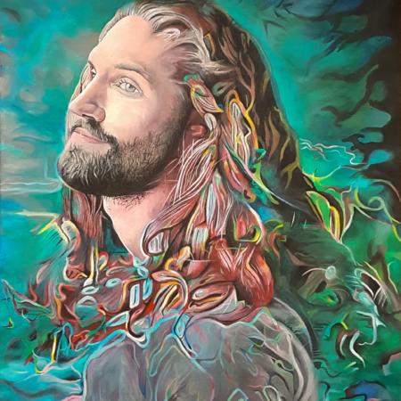 Gemälde Portrait Mann