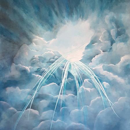 Wolken Gemälde